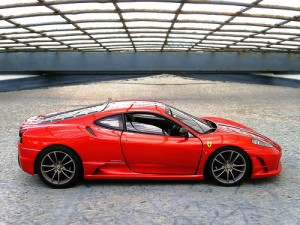 Ferrari-F430-Scuderia-Side